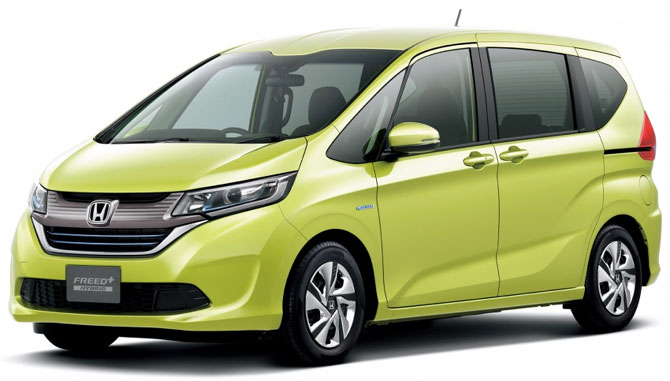2016 Honda Freed Front Quarter Launched In Japan