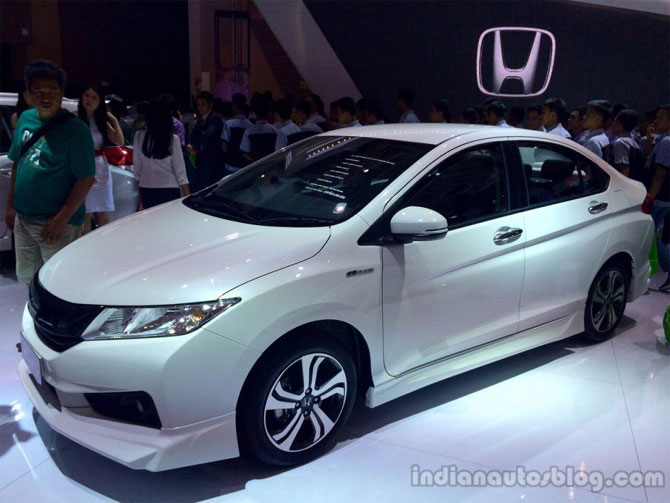 2014 Honda City MUGEN At The 2014 Indonesia International Motor Show