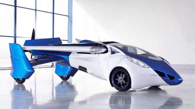 Is it a plane or a car? Actually both!