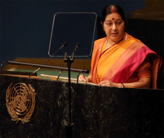 There's enough resource for everyone's needs, but not greed: Swaraj