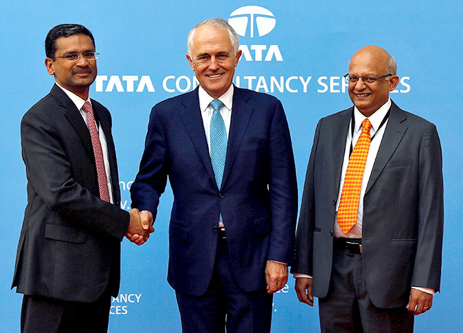 TCS CEO and TCS COO