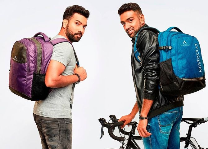 R Ashwin and Rohit Sharma