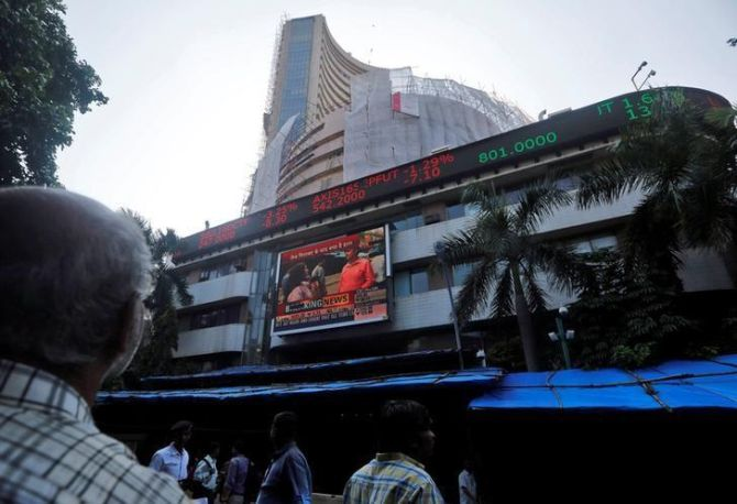Sensex, Nifty fell over 1% to hit their one-month lows