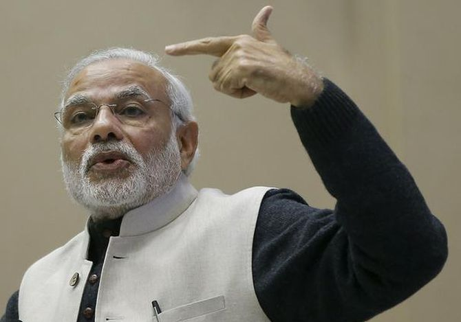 Govt taking steps to uproot corruption: Modi