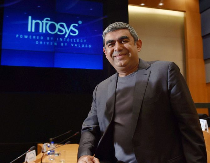 'Sad to see a good CEO like Sikka step down'