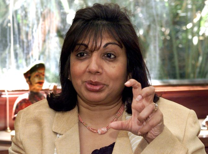 Bansal pay issue: Kiran Mazumdar-Shaw appeals for a closure