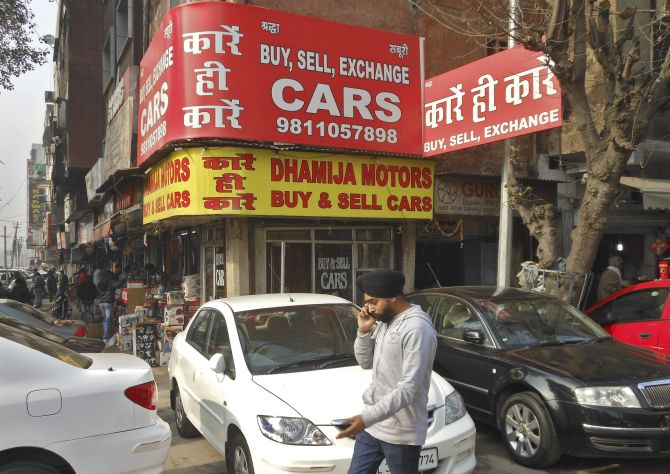 Biggest Challenge Used Car Portals Face Rediff Com Business