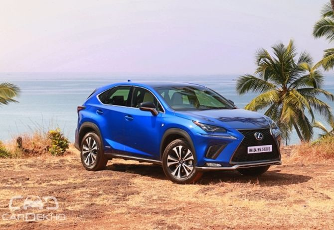 Lexus NX 300h is a calm and composed crossover