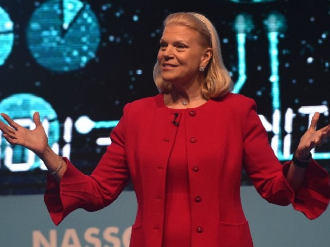 Gini Rometty IBM CEO