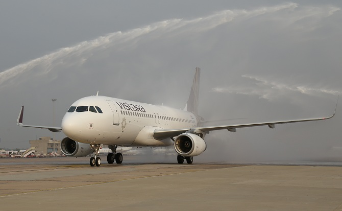 How soon can Vistara fly international?
