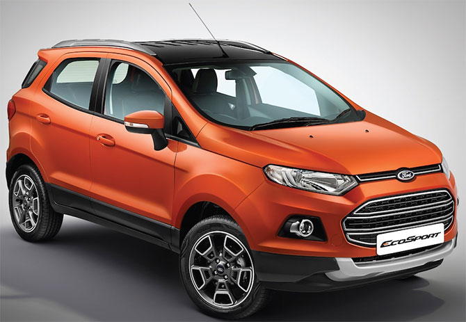 Ford launches new EcoSport at Rs 10.39 lakh