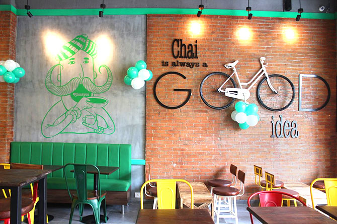 Chai is alwayas a good idea. Photo: @Chaayos/Twitter