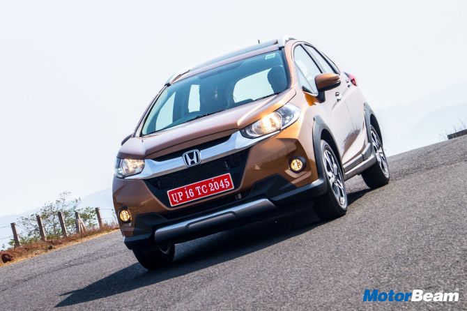 Honda WR-V is fun to drive and offers good fuel efficiency