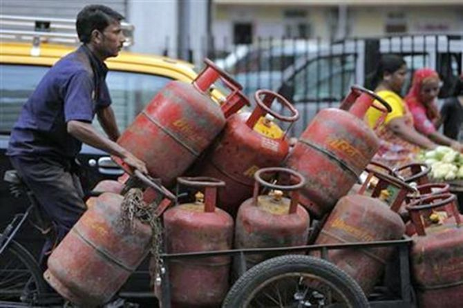 Jet fuel price hiked, LPG to now cost more - Rediff com Business