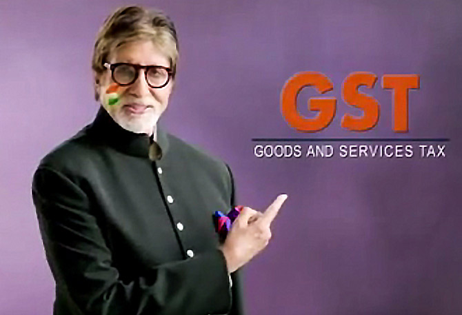 Is Amitabh Bachchan the right choice to promote GST?