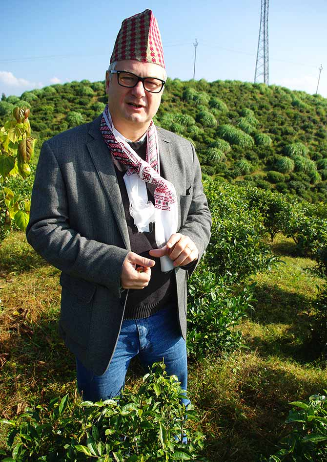 Marcus Wulf, managing director, Hamburg Tea