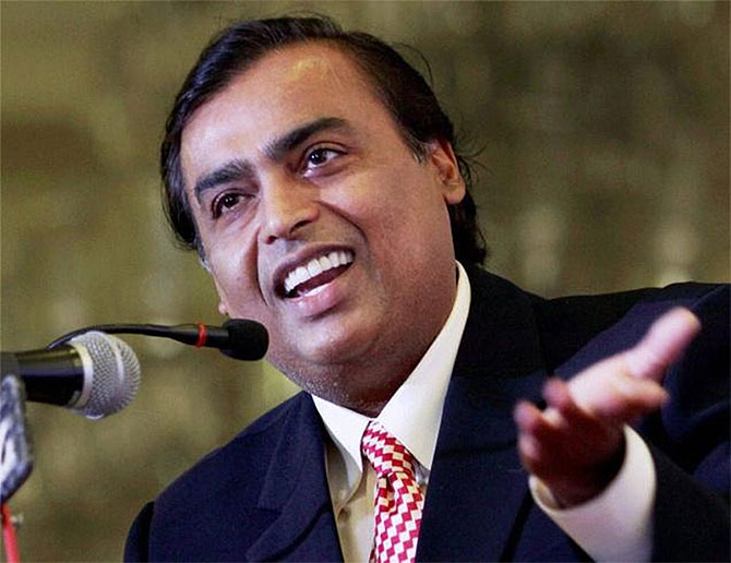 Mukesh Ambani endorses Deora for Mumbai South seat