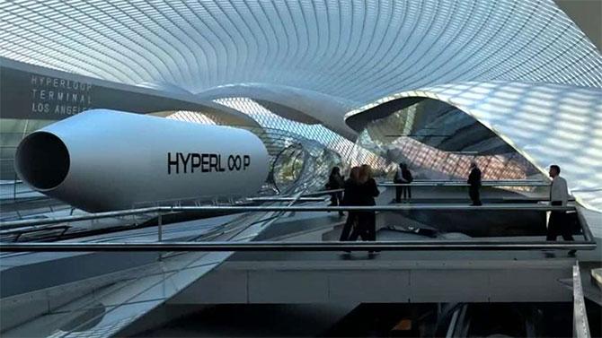 Hyperloop One: The future is here!