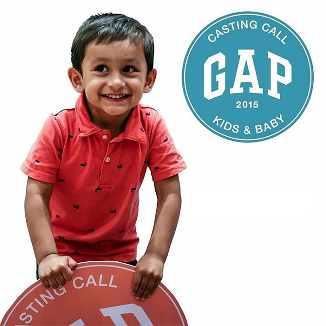 Gap advertisement
