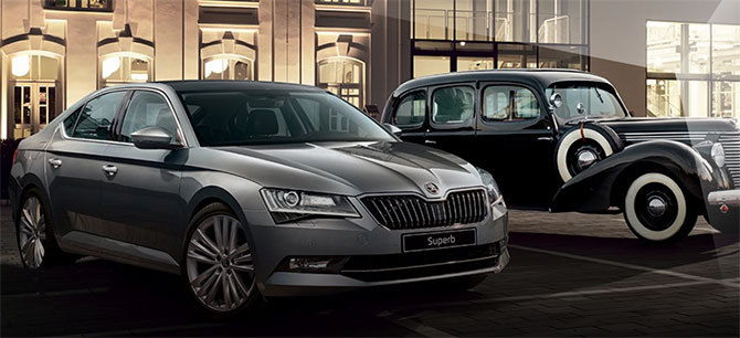 Skoda awaits a ride with Tata Motors