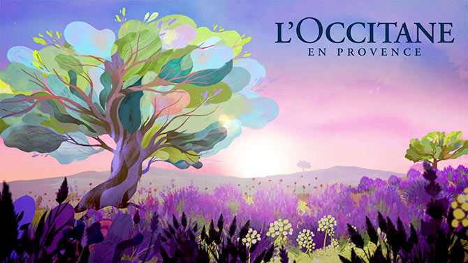 L'Occitane advertisement