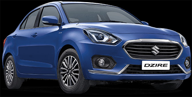 Maruti rolls out all new Dzire at Rs 545,000
