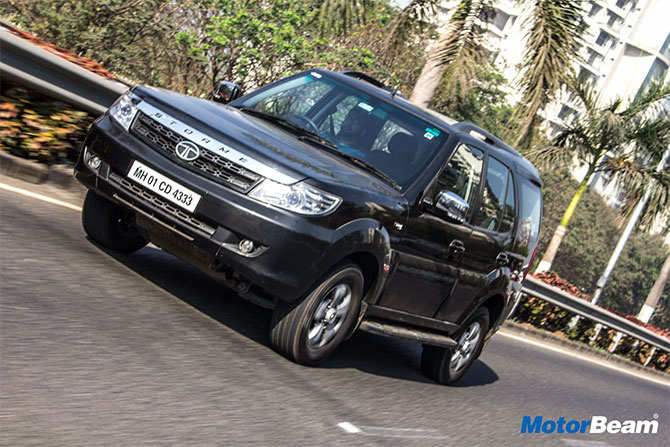 Tata Safari Storme is fun to drive and has immense character