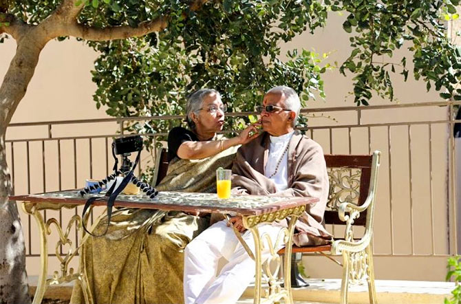 Last year, the Dhananjayans celebrated their 50th wedding anniversary in Greece with their family.
