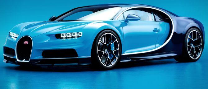 Bugatti chiron facts