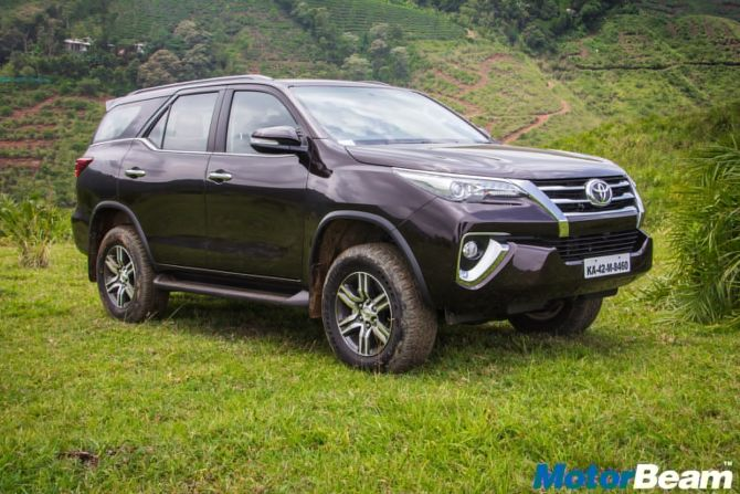 The new Toyota Fortuner comes loaded to the gills