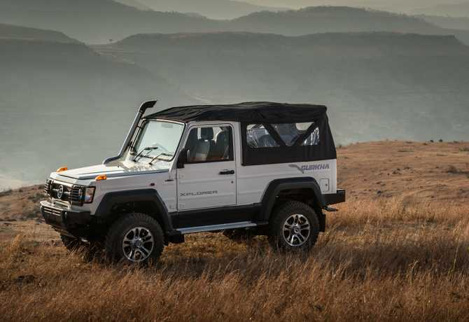 Force Gurkha Xplorer 4X4