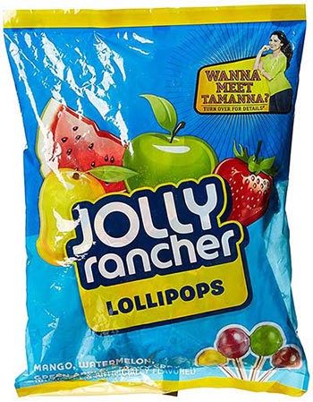 Jolly Ranchers lollipops have been in the Indian market for a whilein