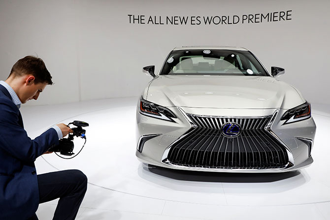 The new Lexus ES