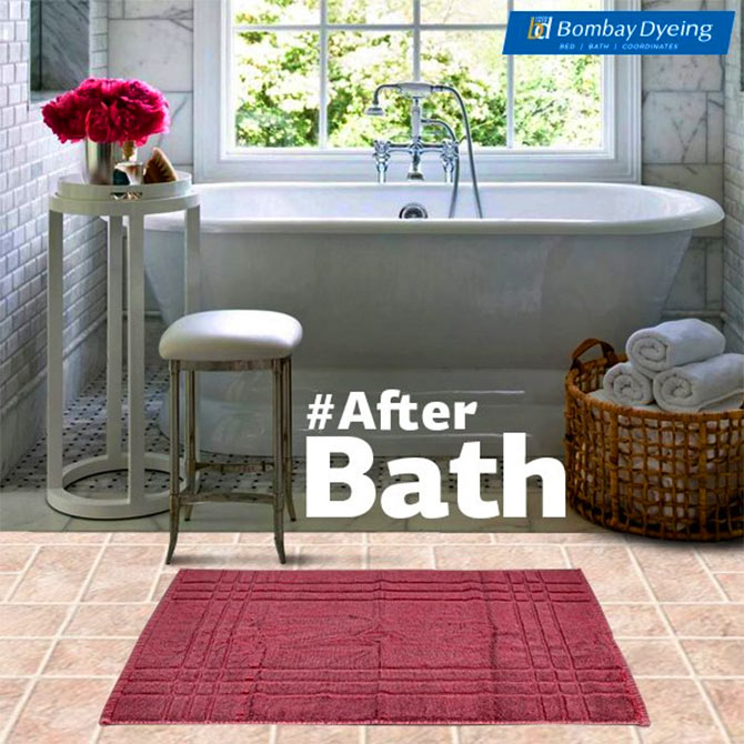 Bathroom linen is another area of growth. Photograph: Courtesy Bombay Dyeing/Facebook.