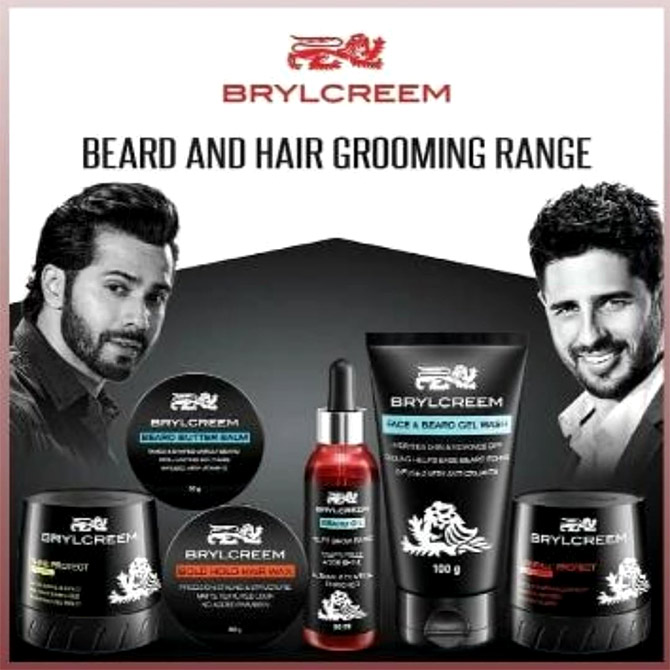 Varun Dhawan and Sidharth Malhotra sell hair cream. Photograph: Courtesy HUL.
