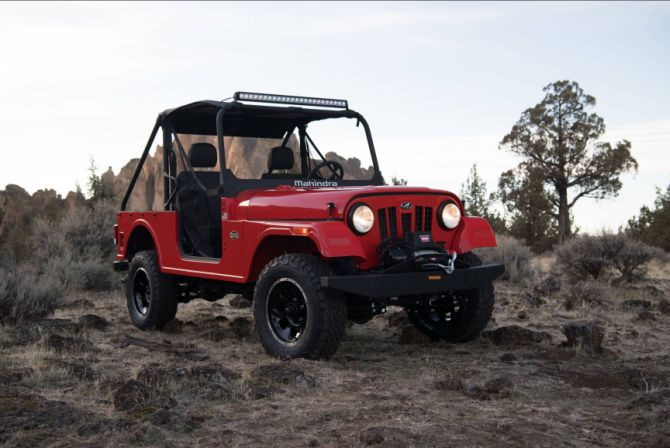 Is Mahindra Roxor A Copy Of Fiat Chrysler S Jeep Rediff Com Business