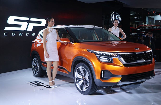 South Korean Automaker Kia Motors Today Said It Will Introduce A Range Of Vehicles Including An India Exclusive Compact Electric Vehicle In The Country