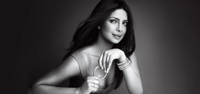 A-lister Priyanka Chopra is the brand ambassador for Nirav Modi jewellery. Photograph: Courtesy Nirav Modi/Facebook.
