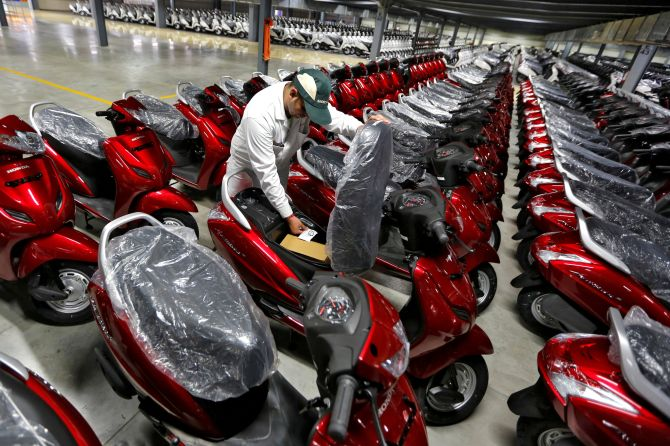 Scooters are the fastest growing auto segment in India