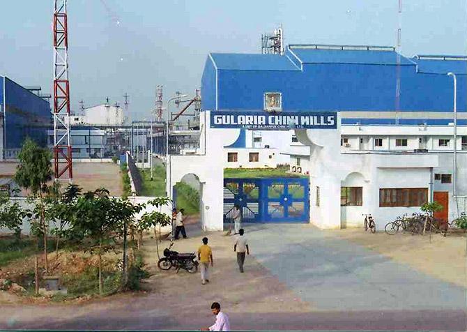 Gularia Chini Mills, Uttar Pradesh. Courtesy: Balrampur Chini Mills