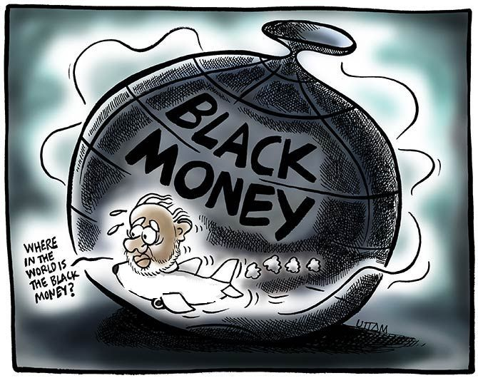 How much black money is stashed abroad?
