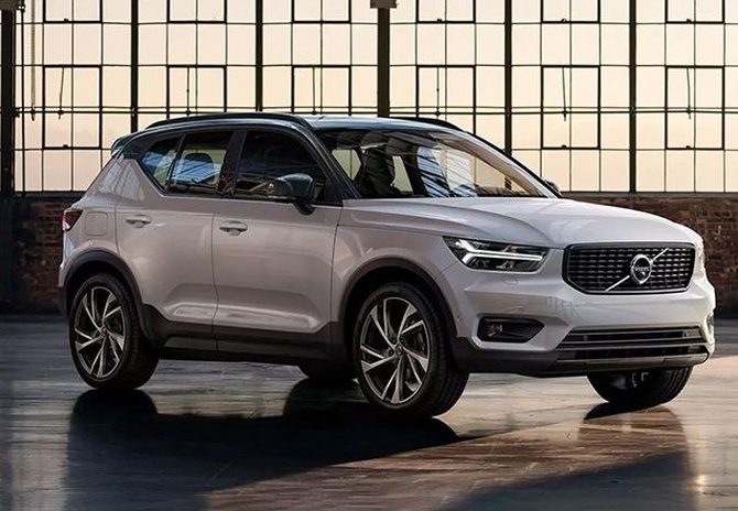 Volvo sets compact luxury SUV segment afire with XC40