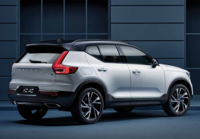 volvo sets compact luxury suv segment afire with xc40 business. Black Bedroom Furniture Sets. Home Design Ideas