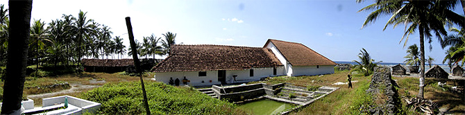 Moideen Mosque, Kalpeni. Photograph: Courtesy Vaikoovery/Wikimedia Commons.