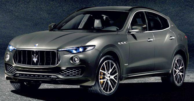 Trident Car Logo >> Maserati Levante A Stunning Suv Rs 1 8 Crore Rediff Com Business