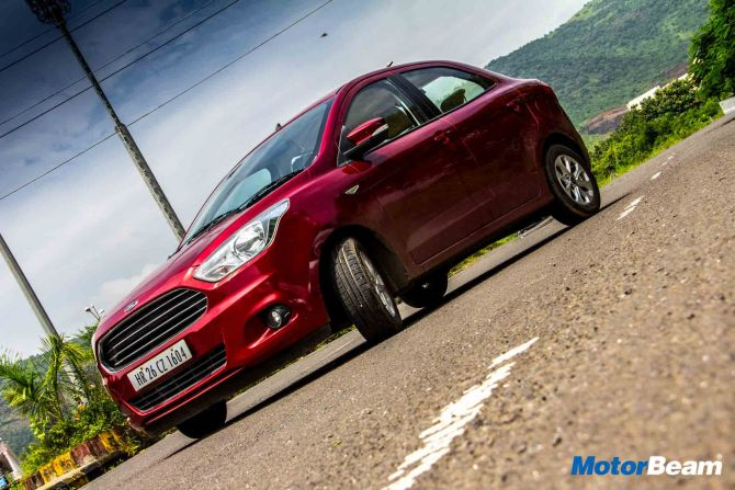 Ford Aspire looks good, interiors are sorted out  &  comfortable