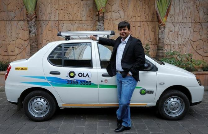 Ola expands to Australia, begins service in Sydney