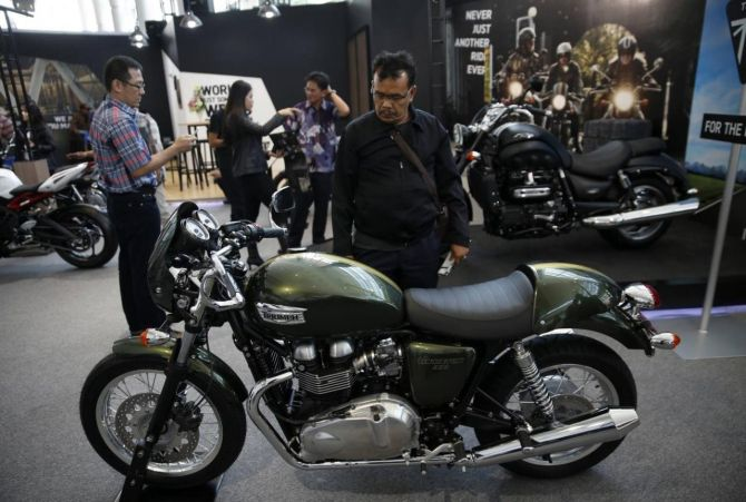 Triumph Motorcycle might rethink India strategy