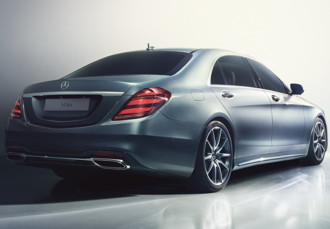 Mercedes Benz S Class Gets A Facelift Rediff Com Business
