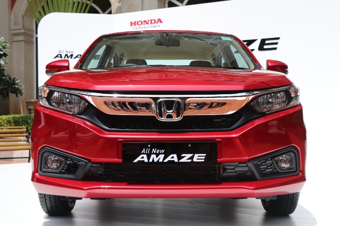 Why The New Honda Amaze Is A Winner All The Way Rediff Com Business